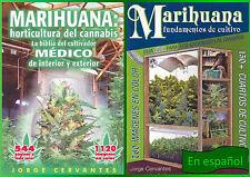Jorge Cervantes Marihuana Horticultura Conjunto de 2 / SPANISH 2 BOOK SET!