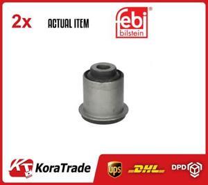X2 PCS CONTROL ARM-/TRAILING ARM BUSH PAIR FE41158 FEBI BILSTEIN I