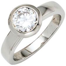Diamant Echtschmuck für Damen (19,7 mm Ø) in Größe 62