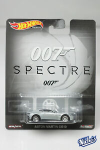 Hot wheels Premium 007 Spectre Aston Martin DB10 RealRiders