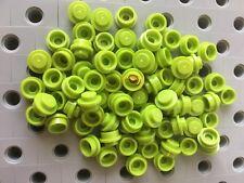 Lego 1X1 Lime Green Round Dot Plates Bricks
