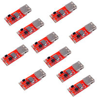 10pcs 3A DC-DC 12/24V to 5V USB Step Down Buck Converter Module