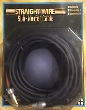 Straightwire Musicable SUBWOOFER 6 meter / 20 ft Subwoofer cable NEW