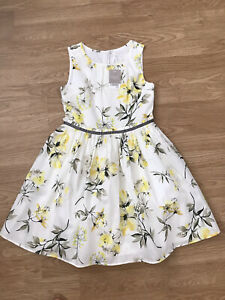 Girls Next Beautiful Floral Dress 11 Years BN