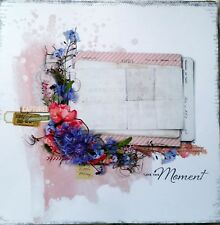 12 x 12 Printed Cardstock - Love This Moment