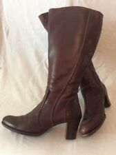 Pikolinos Brown Knee High Leather Boots Size 40