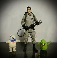 "GHOSTBUSTERS Classic RAY STANTZ 6"" deluxe action figure Slimer Stay Puft Bundle"