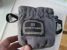 small Hardy Sovereign ultralite etc salmon fly fishing reel bag pouch up to 6#