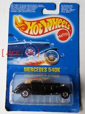 HOT WHEELS Mattel 1990 MERCEDES 540 K vintage #5142