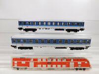 CO887-0,5# 2x Märklin H0/AC 4032 InterRegio-/IR-Personenwagen Bim 263 DB, s.g.