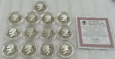 North American Hunting 1 oz .999 Fine Silver * Lot of 13- Rounds