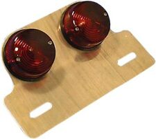 Complete Taillight Twin Round E-Marked