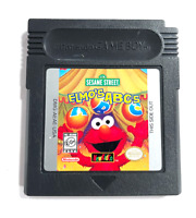 Elmo's ABCs NewKidCo Educational Game NINTENDO GAMEBOY COLOR Tested Working!