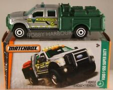 MATCHBOX POWER GRABS #125 Ford F-550 Super Duty Pumper, 2017 issue (NEW in BOX)