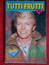 rivista TUTTI FRUTTI 26/1984 Poster Prince David Bowie Iron Maiden Sade  No cd