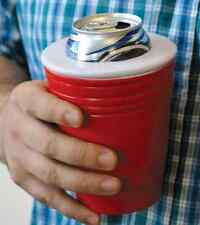 OFFICIAL RED CUP KOOZIE - Red Solo Cup Can Kooler - Can Cooler - Beer Lover  BAR