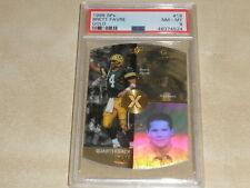 1998 Upper Deck SPx Gold Die Cut #18 Brett Favre PSA 8 NM-MT