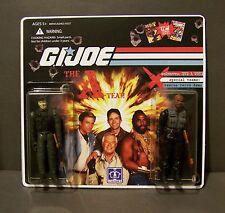 """Custom GI Joe figure set and package  """"Brawn and Bravado""""  The A Team  (set # 2)"""