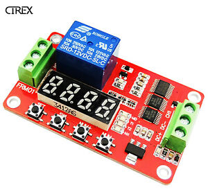 DC 12V Multifunction Delay Time Module Switch Control Relay Cycle Timer PLC Home