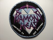 DIAMOND HEAD     EMBROIDERED PATCH