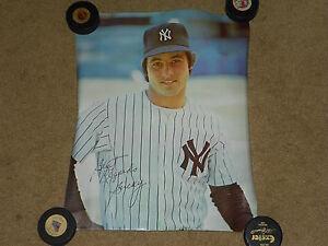 "1970's Bucky Dent NewYork Yankees 16"" x 20"" baseball poster (Mint, sealed!!)"