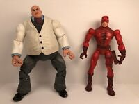 Marvel Legends Face Off Series Arch Enemies Daredevil & Kingpin Set Of 2 Figs