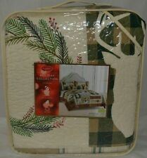 St. Nicholas Square Yuletide Quilt Only- King/Cal King