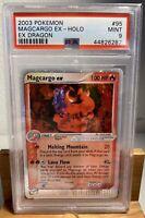 2003 Pokemon #95 Magcargo EX Holo - EX Dragon MINT 9