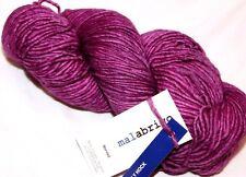 HOLLYHOCK Violet-Pink 210yd Skein Malabrigo WORSTED K-Dyed Soft MERINO Wool YARN