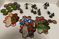 HeroScape Malliddon's Prophecy Heroes Grunt Cards Glyph Terrain Expansion Wave 1