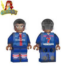 LEGO Custom Football Soccer Mbappe in Club Jersey