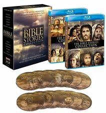 The Bible Stories Collection Blu-ray Set Jesus God David Joseph Moses Jehovah TV