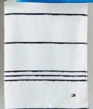 Tommy Hilfiger All American Bath Towels Black stripe new
