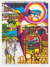 Led Zeppelin, Jethro Tull & Fraternity Of Man HANDBILL from the Artist.