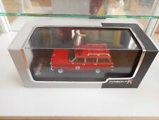 Premium X Jeep Wagoneer New Jersey Lakes Fire 1989 in Red on 1:43 in Box