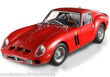 FERRARI 250 GTO RED HOT WHEELS ELITE 1:18 RARE DISCONTINUED BRAND NEW IN BOX