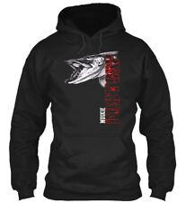 Muskie Fishing Gildan Hoodie Sweatshirt