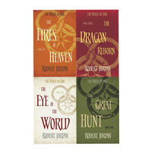 Robert Jordan Wheel of Time Series Eye Of The World 4 Books Collection Set NEW