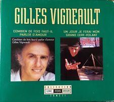 Gilles Vigneault Collection Une Fois Deux - Coffret 2 CDs Neufs sous blister