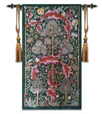 Large William Morris Loom Woven Tapestry High Quality Wall Decor 84 x 140CM