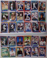 1990 Topps San Diego Padres Team Set of 30 Baseball Cards