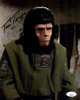 TOM TROUPE Signed 8x10 Photo PLANET OF THE APES In-Person Autograph JSA COA Cert