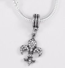 French chain France Present Fueur De Lis Fleur De Lis Necklace Fleur De Lis Gift