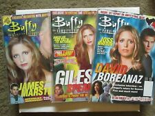 Buffy the Vampire Slayer & Angel magazines complete collection w/ extras