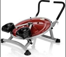 AB Circle Pro Complete Machine, Good Condition Ab Machine Red Simple Use