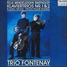 Mendelssohn: Piano Trios 1 & 2  Teldec  1992 by Mendelssohn, - Disc Only No Case