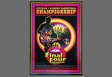 Rare NCAA WOMEN'S BASKETBALL FINAL FOUR 2002 San Antonio Official Event POSTER