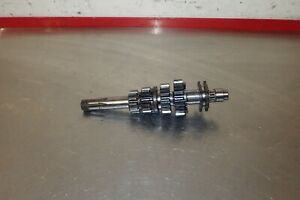 1972 OSSA MAR Mick Andrews 250 transmission gear gears shaft spindle