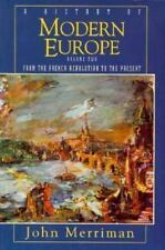 A History of Modern Europe: From the French Revolution to the Present -ExLibrary