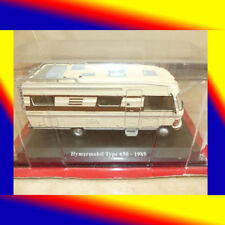 *** COLLECTION HACHETTE CAMPING CARS HYMERMOBIL TYPE 650 1985 MERCEDES  1/43